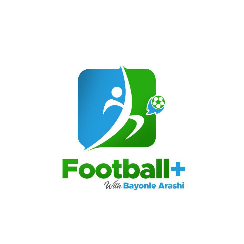 Football+ with Bayonle Arashi logo